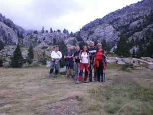 Foto de grupo, en la pradera o plano Bozuelo