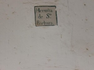 Cregenzán. Santa Bárbara
