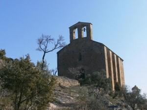 La Puebla de Castro. Ermita San Román