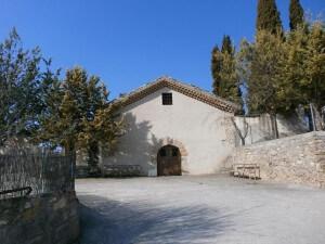 La Puebla de Castro. Ermita Santa María