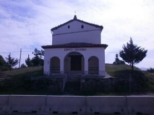 La Puebla de Castro. Ermita San Roque