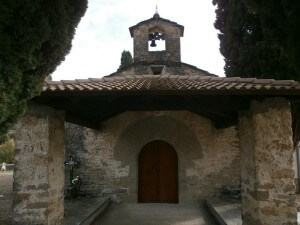 Perarrúa. Ermita La Virgen de la Ribera