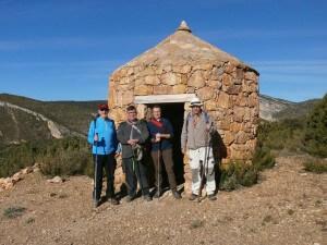 Camino del puente de Villacantal, todos los componentes del grupo