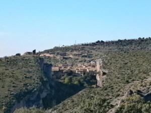 Al iniciar el descenso al puente de Villacantal, otra perspectiva de Alquézar