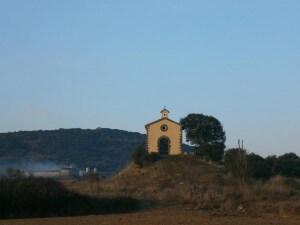 Benabarre.  Ermita Santa Ana