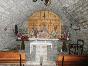 Panillo. Ermita La Collada