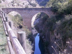 La Puebla de Castro. Puente Medieval