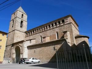 Secastilla. Iglesia de Ntra. Sra. del Llano