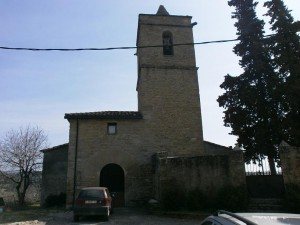 Benavente de Aragón. Iglesia de La Asunción