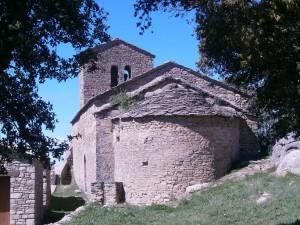 Castillo de Fantova. Santa Cecilia