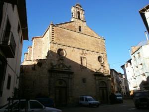 Benabarre. Iglesia de Ntra. Sra. de Valdeflores