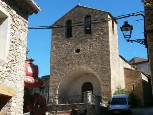 La Puebla de Roda. Iglesia de Santiago