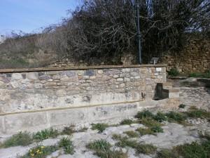 Capella. Antiguo abrevadero