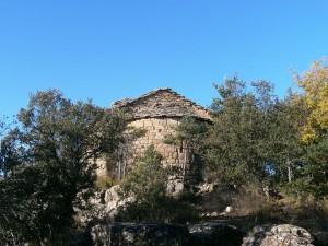 Llegando a la ermita de San Gregorio