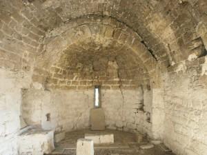 Interior de la ermita de San Gregorio