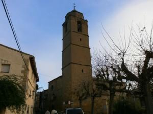 Loporzano. Iglesia parroquial de San Salvador