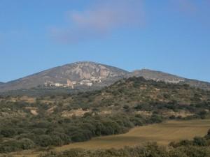 Desde la Piedra de los Moros, una vista de Santa Eulalia La Mayor