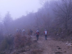 Chiriveta. Camino de la ermita
