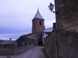 Saliendo de Sasa del Abadiado