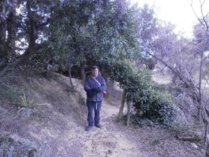 Ya camino del molino de aceite, al lado de la ermita