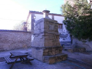 Fuente pública en Sasa del Abadiado