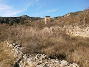 Salinas de Hoz. Antiguo salinar