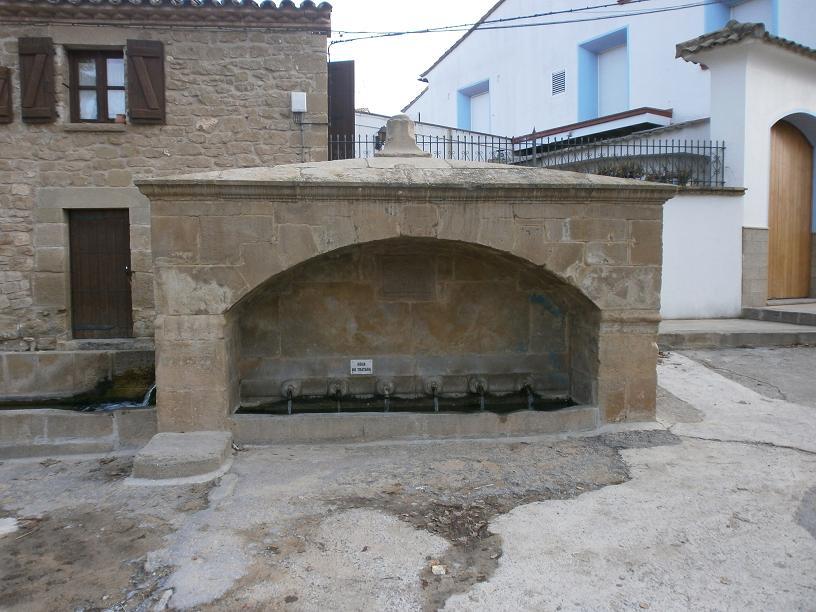 Fuentes y lavaderos – La Hoya de Huesca