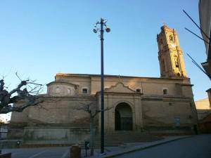 Almunia de San Juan. Iglesia de San Pedro Apóstol