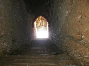 Laluenga. Una imagen desde el Interior del Pozo Fuente