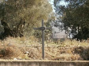 """Barbuñales. Señal de """"Vía Crucis"""""""