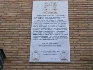 Barbuñales. Casa Félix de Azara