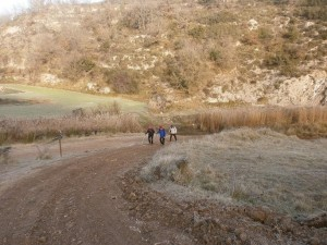 Camino de la ermita de Santa Quiteria