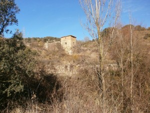 Salinas de Hoz. Salinar abandonado