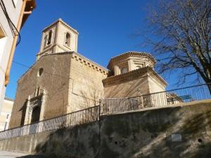 Laluenga. Iglesia parroquial Santa Maria Magdalena
