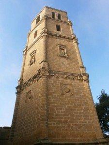 Pertusa. Torre de la iglesia de Santa María