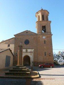 Barbuñales. Iglesia parroquial