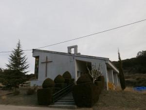 """Purroy de la Solana. Iglesia del """"pueblo nuevo"""""""