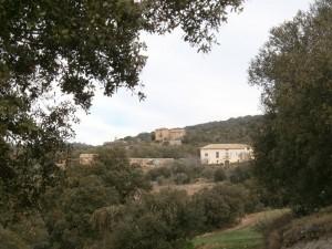 """Purroy de la Solana. Algunas casas subiendo al """"Purroy viejo"""""""