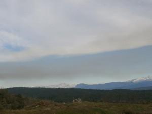 Desde Purroy, una vista de Monte Perdido y el macizo de Cotiella a la derecha