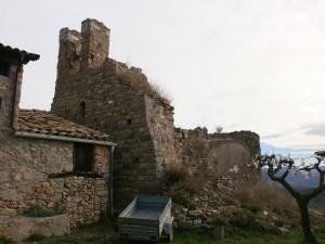 """Purroy """"viejo"""". Ruinas de la antigua iglesa parroquial de San Justo y Pastor"""