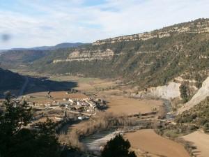 Santaliestra. Valle del río Ésera