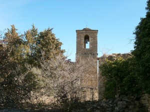 Aguilar. Torre de la iglesia