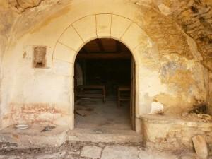 Aguilar. Puerta de entrada a la iglesia