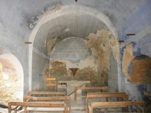 Aguilar. Interior de la iglesia