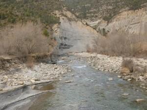 Santaliestra. Río Ésera