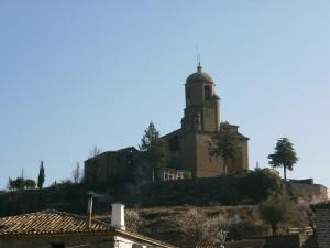 Olsón. Iglesia parroquial de Santa Eulalia