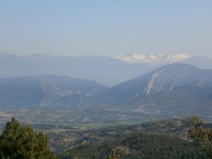 Montes Malditos, desde la sierra del Arbe