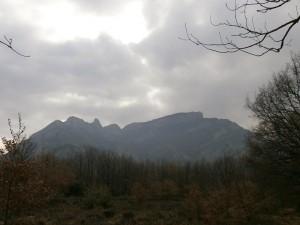 Pardinella. Vista de la Sierra de Sis