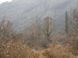 Beranuy. Iglesia de Santa Eulalia