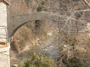Beranuy. Puente medieval desde otra perspectiva